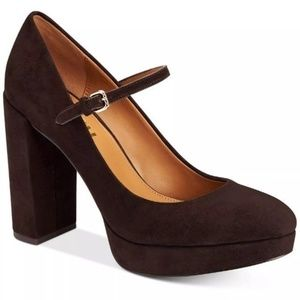 COACH Goldie Mary-Jane Platform Pumps